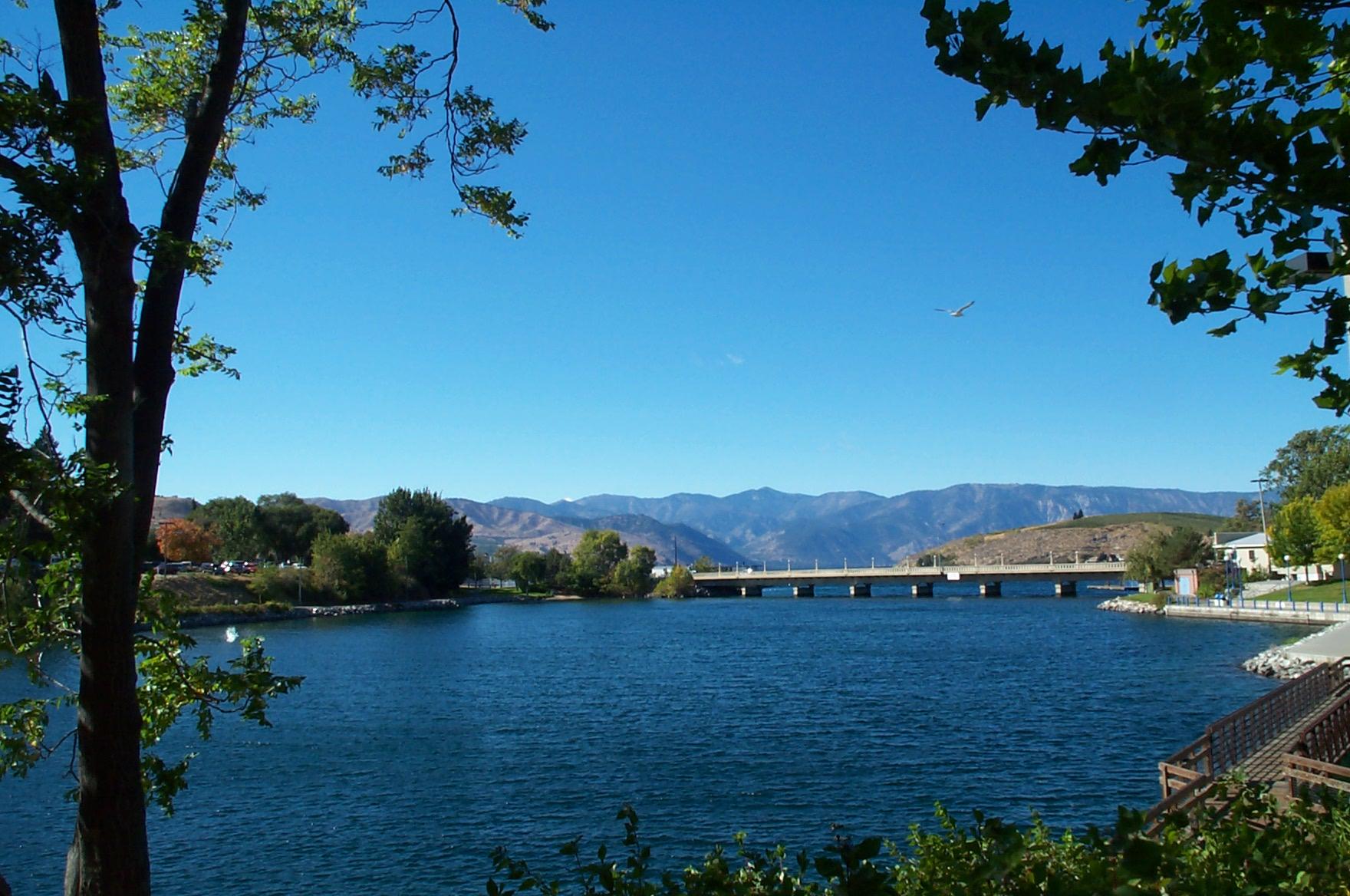 Photo: Chelan River